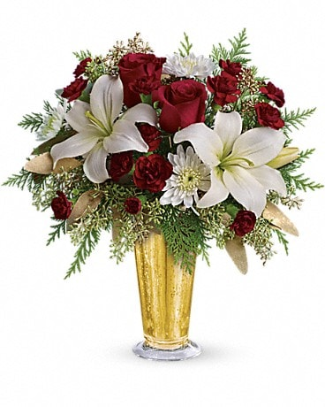 Golden Gifts by Teleflora Bouquet