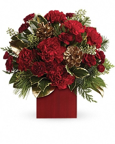 Laughter and Cheer by Teleflora Flower Arrangement
