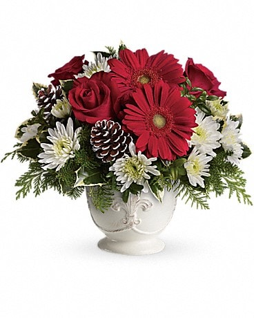 Simply Merry Centerpiece Bouquet