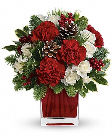 Make Merry by Teleflora   TWR04-1A Flower Arrangement