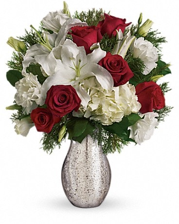 A Christmas Kiss by Teleflora Bouquet