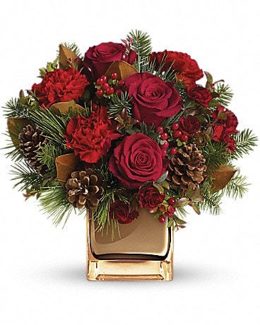 Warm Tidings Bouquet Flower Arrangement
