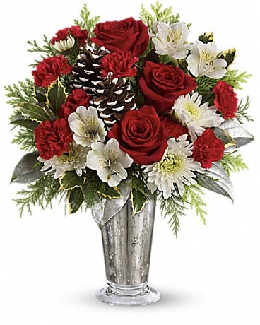 Teleflora's Timeless Cheer Bouquet Bouquet