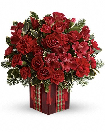 Season's Surprise Bouquet by Teleflora Flower Arrangement