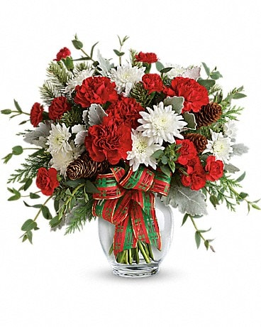 Teleflora's Holiday Shine Bouquet Bouquet