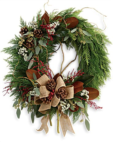 Rustic Holiday Wreath Wreath