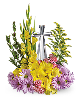 Teleflora's Crystal Cross Bouquet - Flower Arrangement
