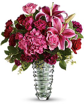 Swept Away - Long Stemmed Roses - Bouquet