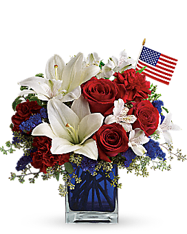 America the Beautiful - Bouquet