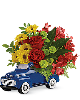 Glory Days Ford Pickup by Teleflora - Bouquet