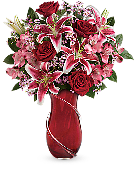 Teleflora's Wrapped With Passion Bouquet - Bouquet