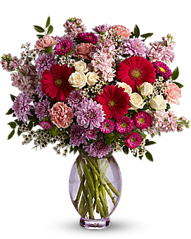 Teleflora's Perfectly Pleasing Pinks - Bouquet