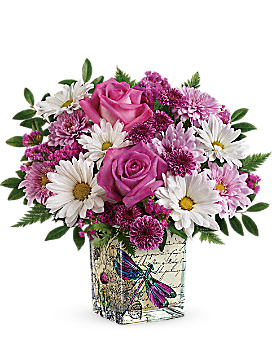 Teleflora's Wildflower In Flight Bouquet - Bouquet