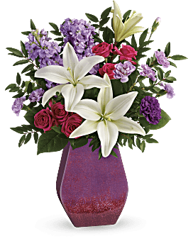 Teleflora's Regal Blossoms Bouquet - Bouquet