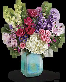 Telefloras Iridescent Beauty Bouquet