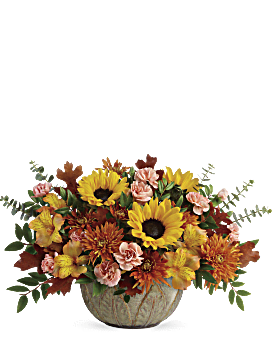 Autumn Sunbeams Centerpiece - Bouquet