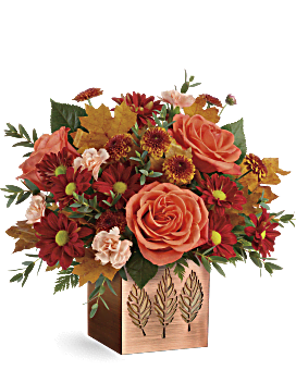 Copper Petals Bouquet - Bouquet