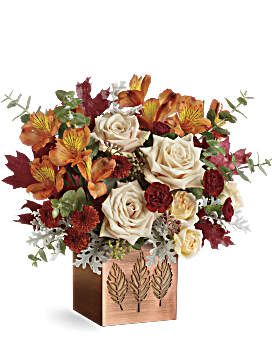 Shimmering Leaves Bouquet - Bouquet