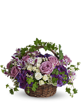A Full Life - Basket Arrangement