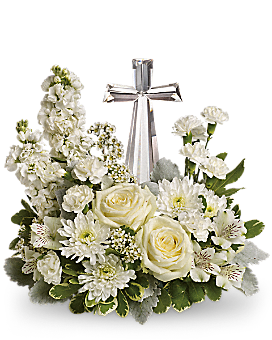 Teleflora's Divine Peace Bouquet - Flower Arrangement