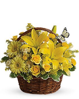 Basket Full of Wishes - Basket Arrangement