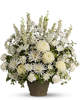 Teleflora's Pure and True - Flower Arrangement