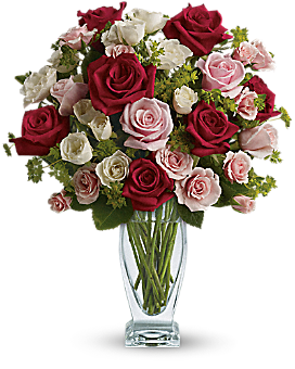 Cupid's Creation with Red Roses by Teleflora - Bouquet