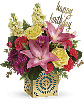 Teleflora's Blooming Birthday Bouquet - Bouquet