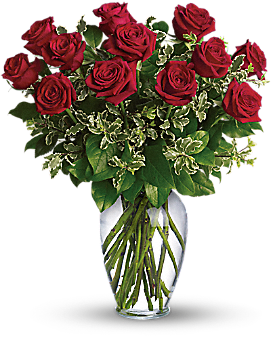 Always on My Mind - Long Stemmed Red Roses - Bouquet