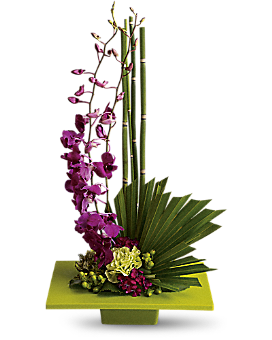 Zen Artistry  #T81-1A - Flower Arrangement