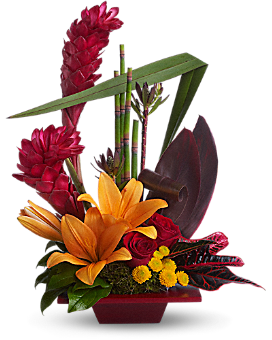 Teleflora's Tropical Bliss - Flower Arrangement