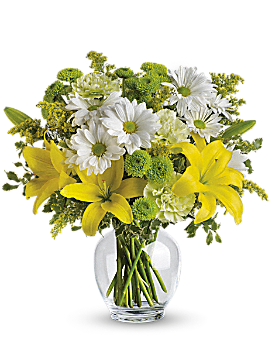 Teleflora's Brightly Blooming - Bouquet