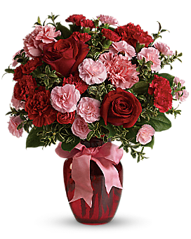 Dance with Me Bouquet with Red Roses - Bouquet