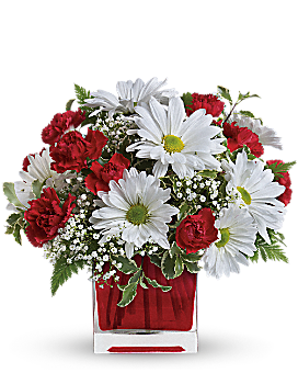 Red And White Delight by Teleflora - Bouquet