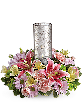 Just Delightful Centerpiece by Teleflora - Bouquet