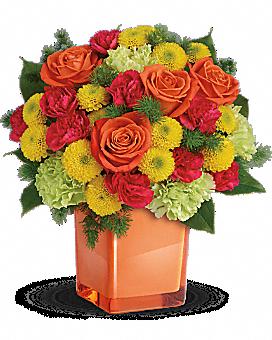 Telefloras Citrus Smiles Bouquet