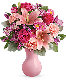 Telefloras Lush Blush Bouquet