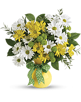 Teleflora's Daisies And Dots Bouquet - Bouquet