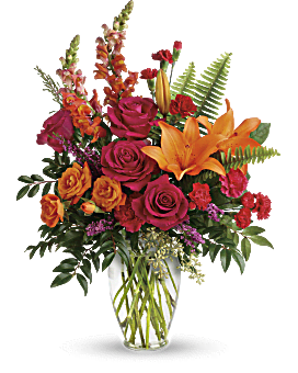 Punch Of Color Bouquet - Bouquet