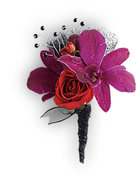 Celebrity Style Boutonniere - Boutonniere