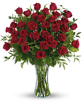 Breathtaking Beauty - 3 Dozen Long Stemmed Roses - Bouquet