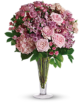 A La Mode Bouquet with Long Stemmed Roses - Bouquet