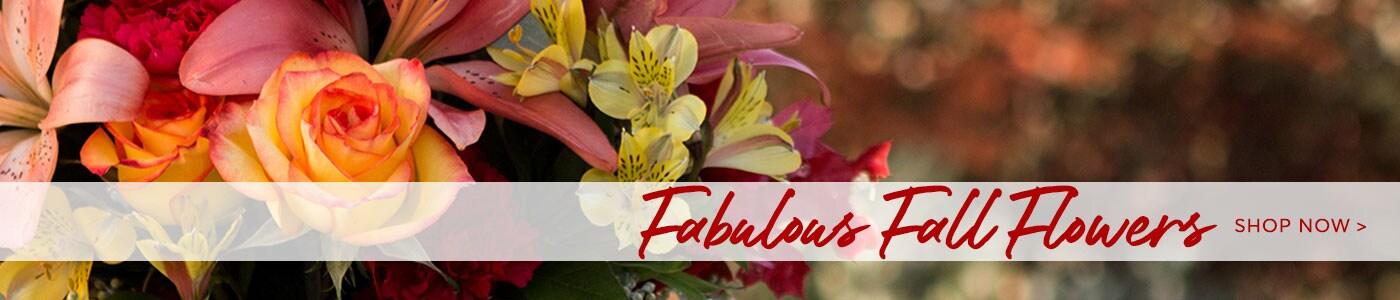 Fall Flowers Banner - Findaflorist.com