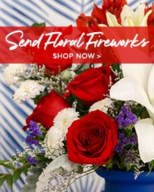 Deliver July 4th Flowers