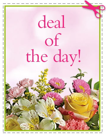 Spring Flowers -  Deal of the Day - Biggest Freshest Arrangement