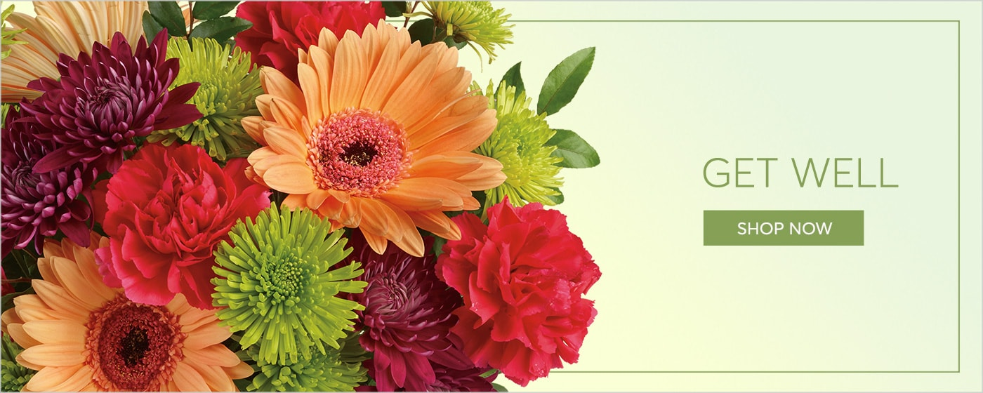 Get Well Flower Arrangement Delivery