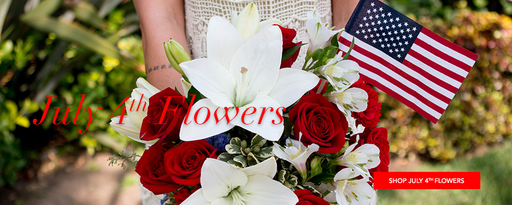 July 4th Flowers Delivery