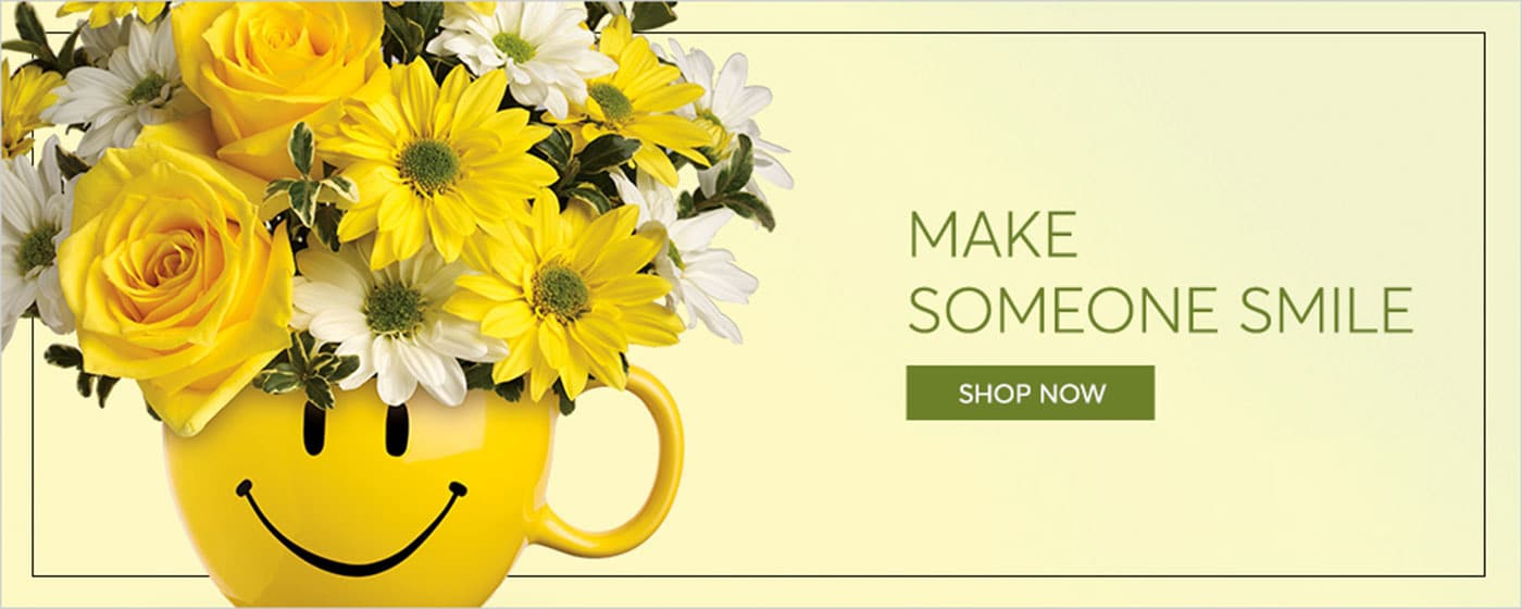 Make Someone Smile by sending Flowers in Bloomfield