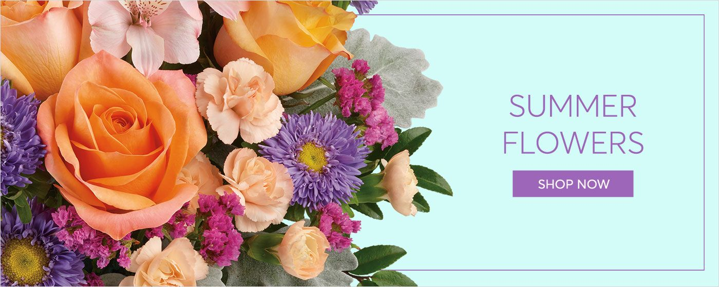 Summer flower delivery by your local florist Buds In Bloom Floral Shop