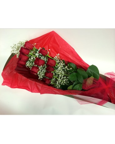 Dozen Red Roses Boxed